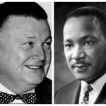 Orville Hubbard and Martin Luther King