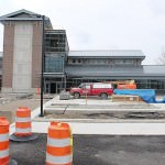 New Train Station, as of April 29, 2014 - expected to open in August 2014 - photo by Quentin Rodriquez