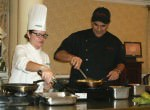 Celebrity Chef Jose Santaella Visits Oakwood Common