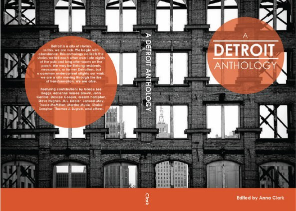 Book cover - A Detroit Anthology