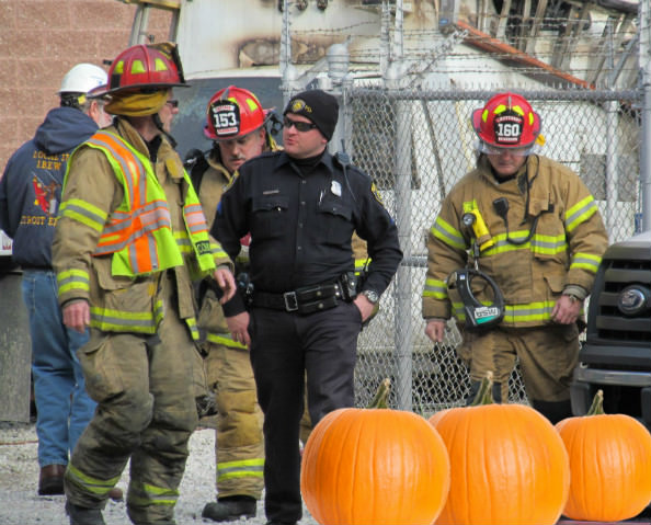 Dearborn Fire Fighters Burn Drive - Pumpkin Patch