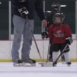 kids free hockey clinic