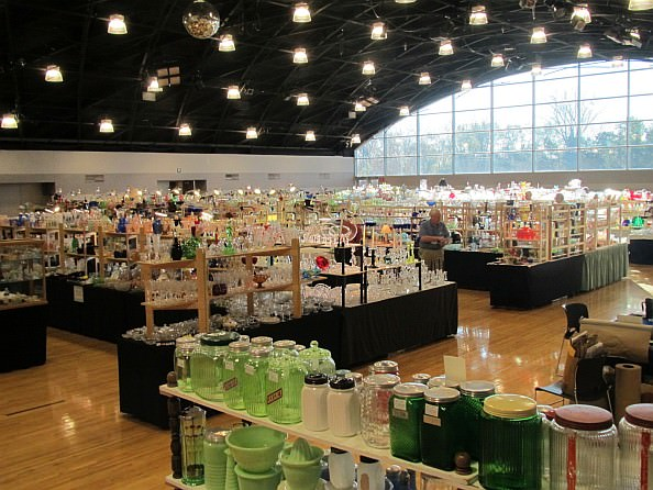 Michigan Depression Era Glass Show