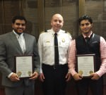 Fire Department  Honors Men Who Rescued Burn Victim